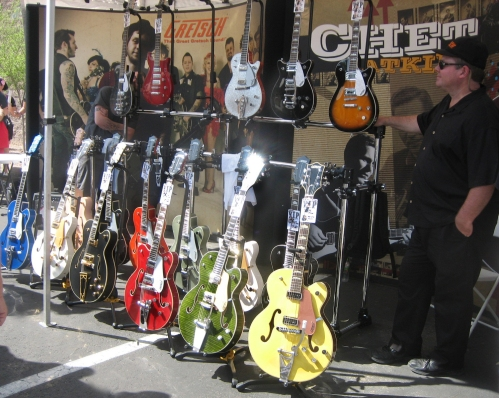 Gretsch display