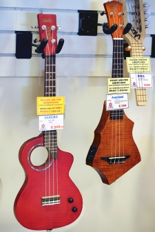Eleuke & Ami Ami solid body electric Ukes